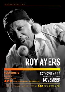 Roy Ayers LIVE at Subterania, London