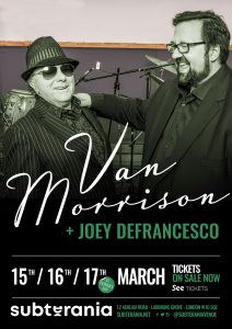 Van Morrison + Joey Defrancesco LIVE at Subterania, London