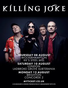 Killing Joke + special guests  RDF (Radical Dance Faction) LIVE at Subterania, London