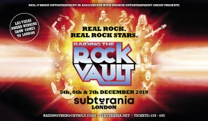 Raiding The Rock Vault LIVE at Subterania, London