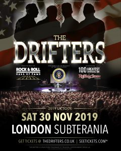 The Drifters LIVE at Subterania, London