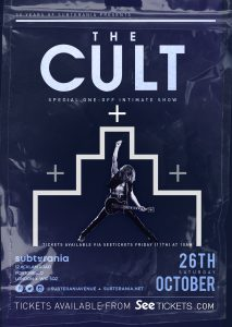 The Cult LIVE at Subterania, London