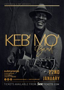 Keb' Mo' LIVE at Subterania, London