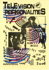 Television Personalities + Special Guests LIVE at Subterania, London